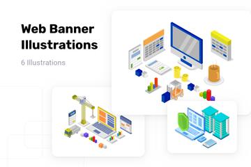 Web Banner Illustration Pack