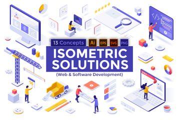Web & Software Development Illustration Pack