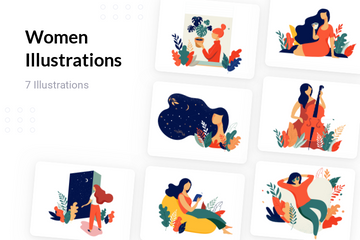 Women Illustration Pack