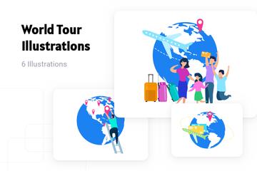 World Tour Illustration Pack