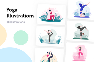 Yoga Illustration Pack