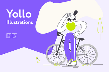 Yollo Illustrations Illustration Pack