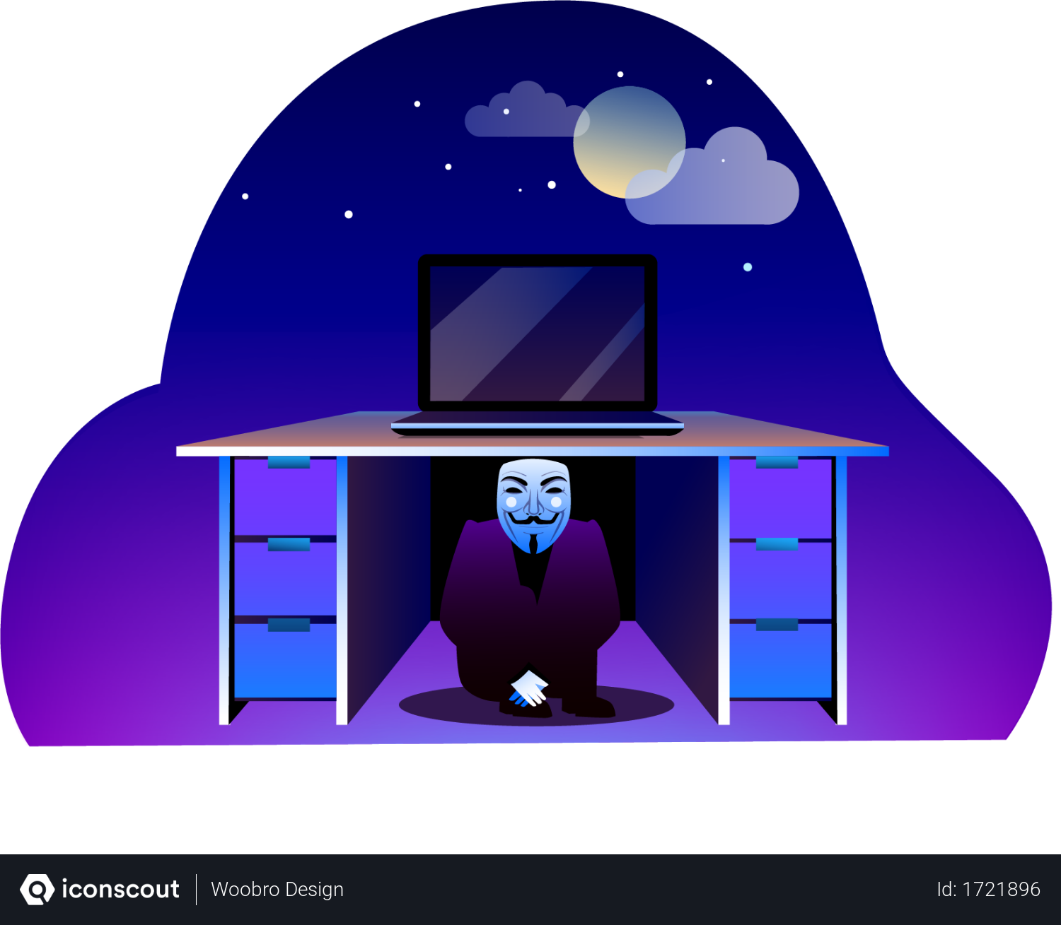 free hacker illustration download in png vector format hacker illustration download in png