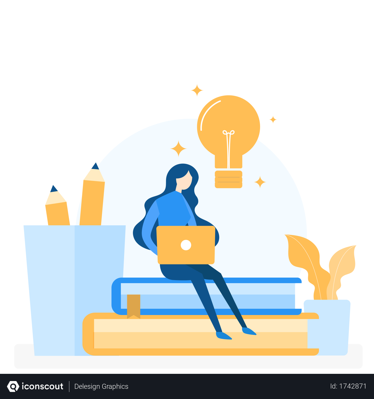 Free Online Learning Concept Illustration Download In Png Vector Format