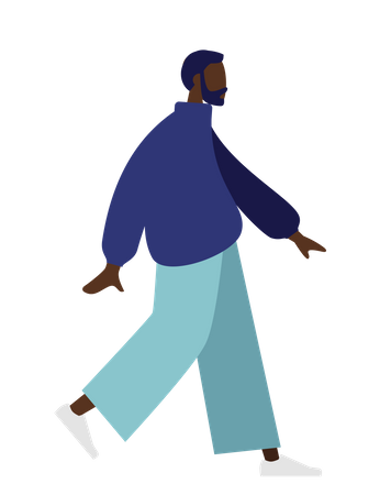 African man Illustration