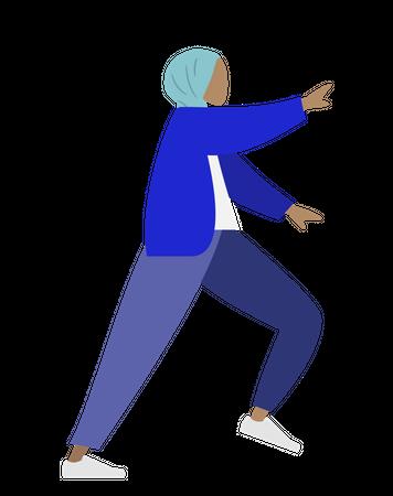 Arab woman Illustration