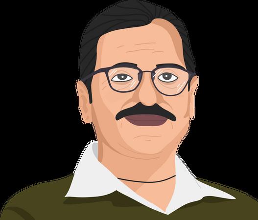 Arvind Kejriwal Illustration