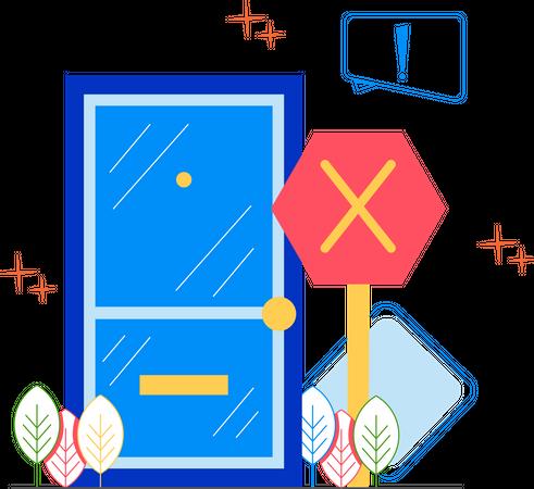 Bad gateway Illustration