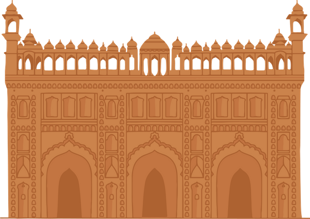 Bada Imambara Illustration