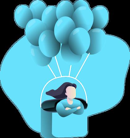 Balloon Illustration