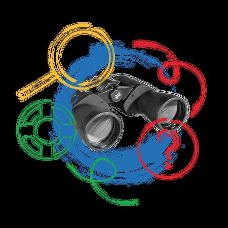 Binocular multipurpose usecase Illustration