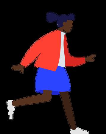 Black girl Illustration