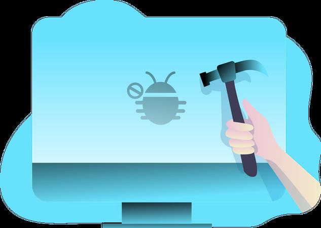Bug Fixed Illustration