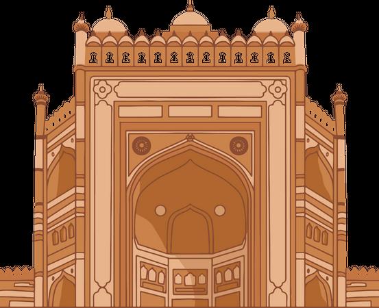 Buland Darwaza Illustration
