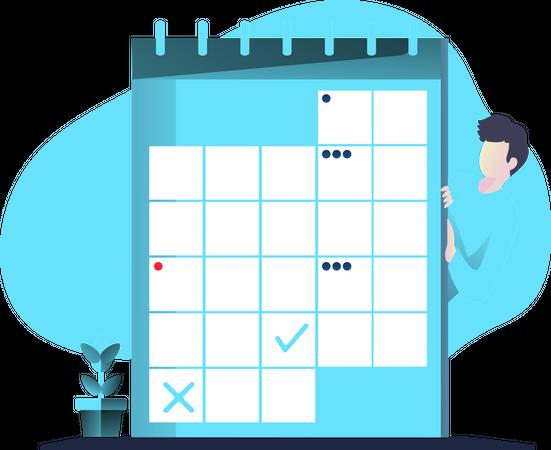 Calendar Illustration