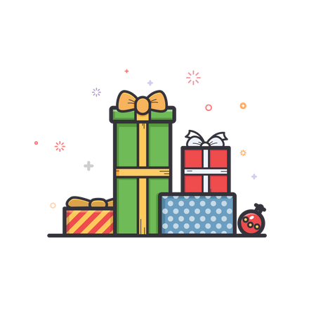 Christmas-gift Illustration