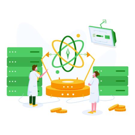 Data Science Illustration Concept Illustration