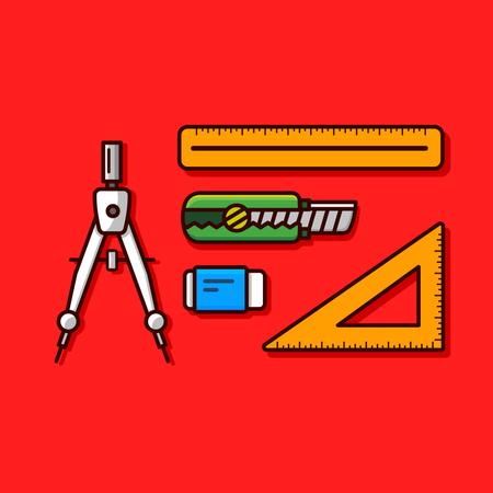 Designer tool Illustration