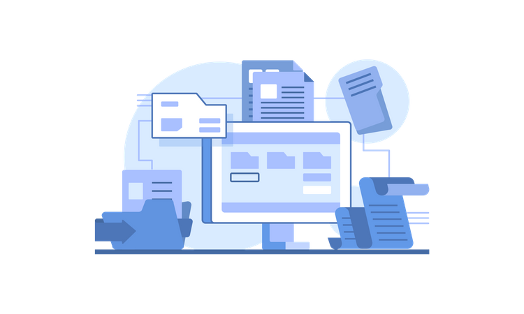 Files and docs Illustration