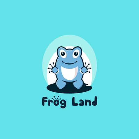 Frog Land Illustration