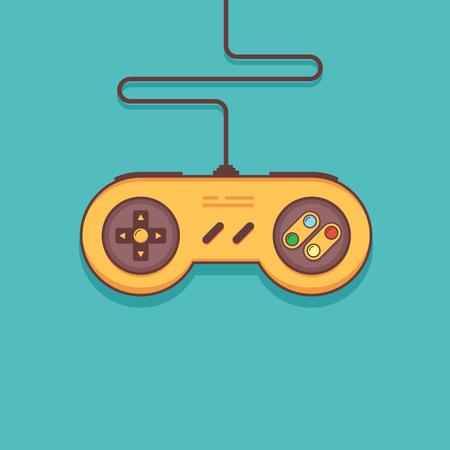 Gaming console Illustration