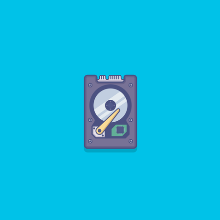 Hard disk drive Illustration