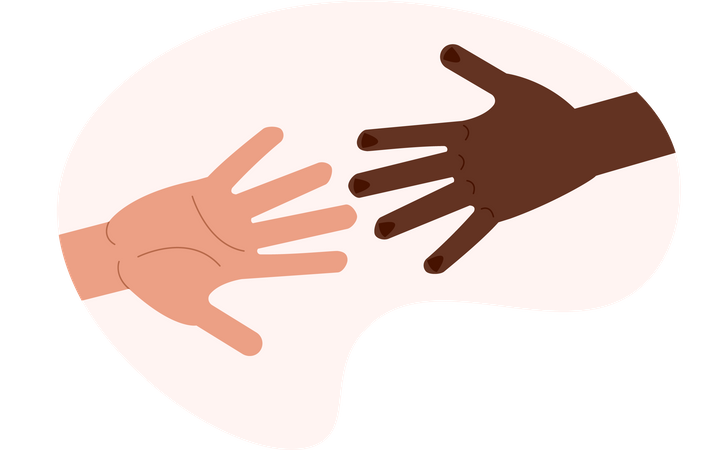 Helping others Illustration
