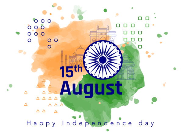 Independence Day 2018 Illustration