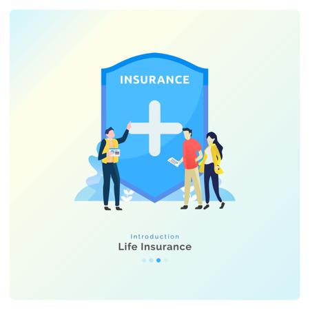 Life Insurance Protection Illustration