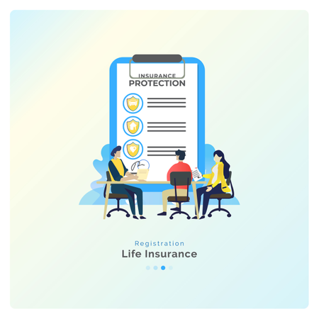 Life Insurance Registration Illustration