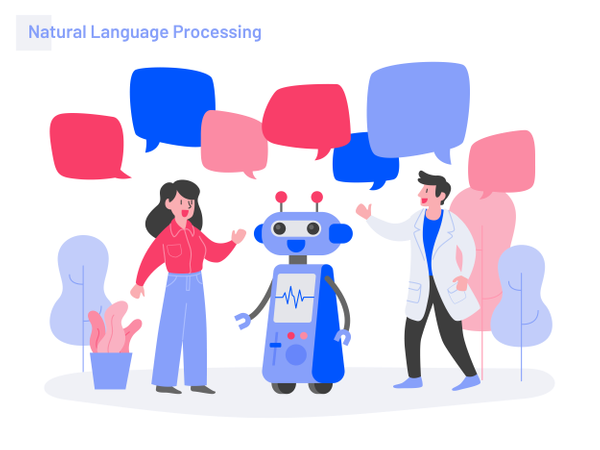 Natural Language Processing Illustration