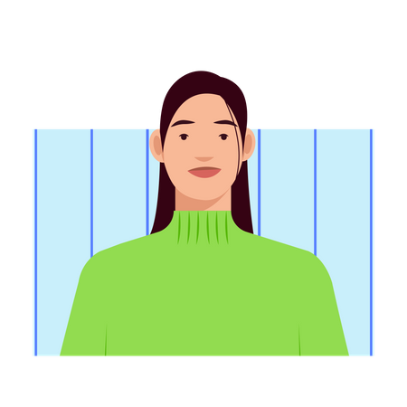 Numb female Illustration