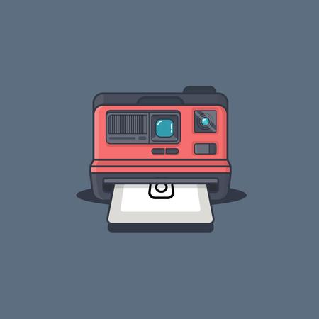 Polaroid Illustration