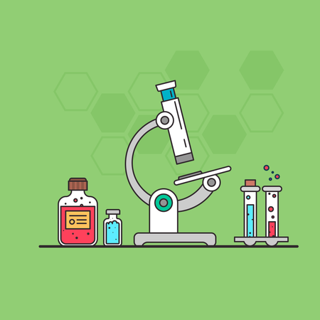 Science and research Illustration