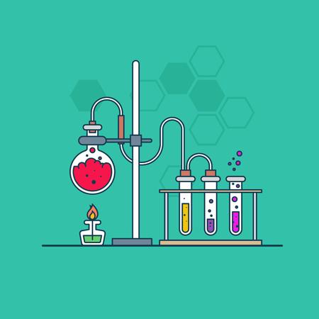 Science law Illustration