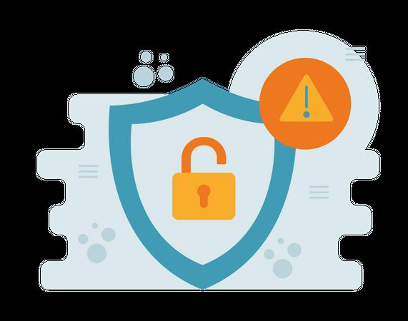 Security error Illustration