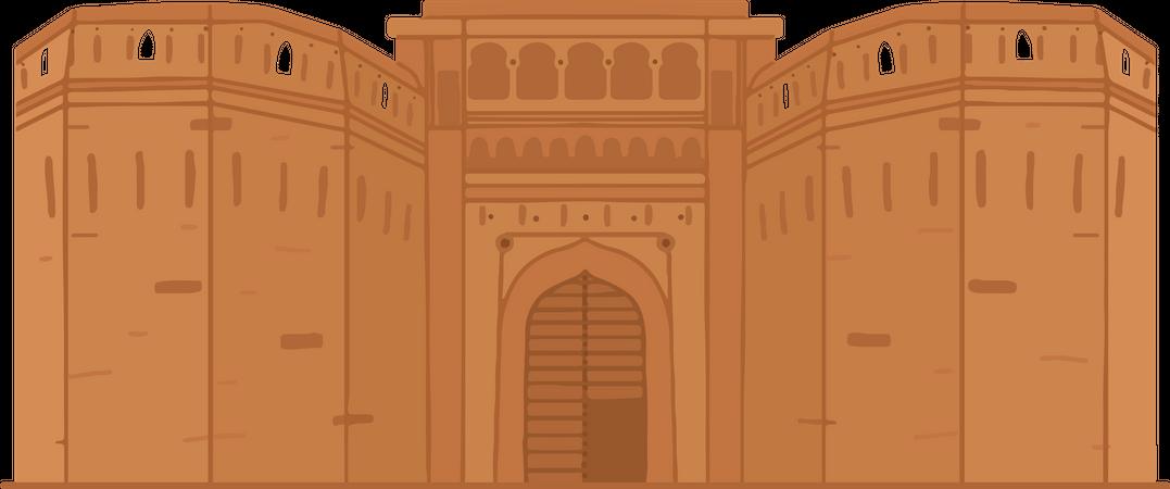 Shaniwar Wada Illustration