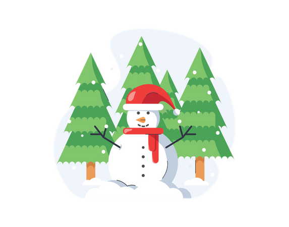 Snowman Illustration