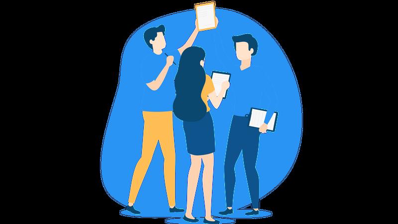 Teamwork Illustration