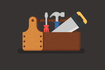 Tools And Equipment Illustration Pack