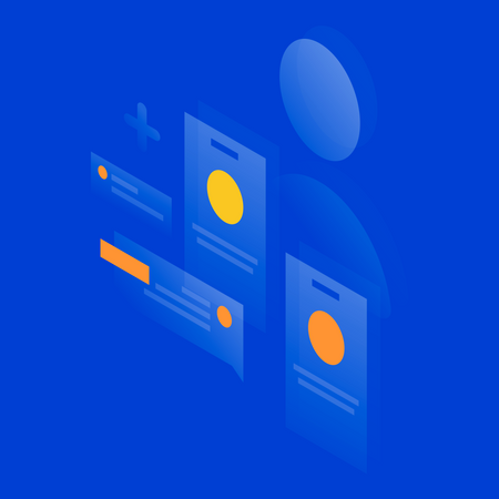 User profile Illustration