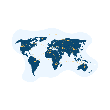 World tour Illustration
