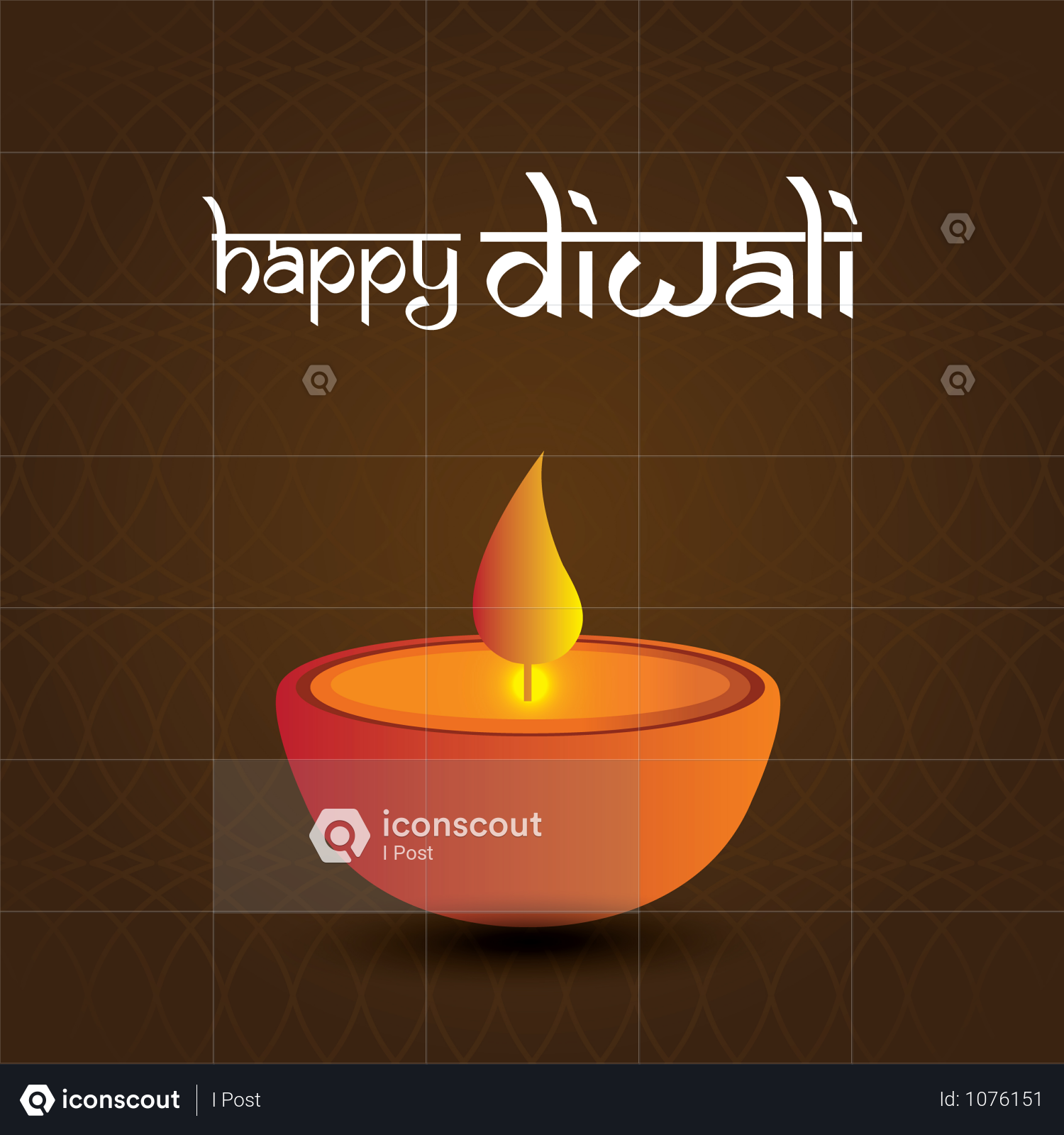 premium diwali festival greeting card with beautiful
