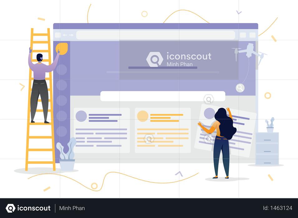 Helpdesk Customization Illustration