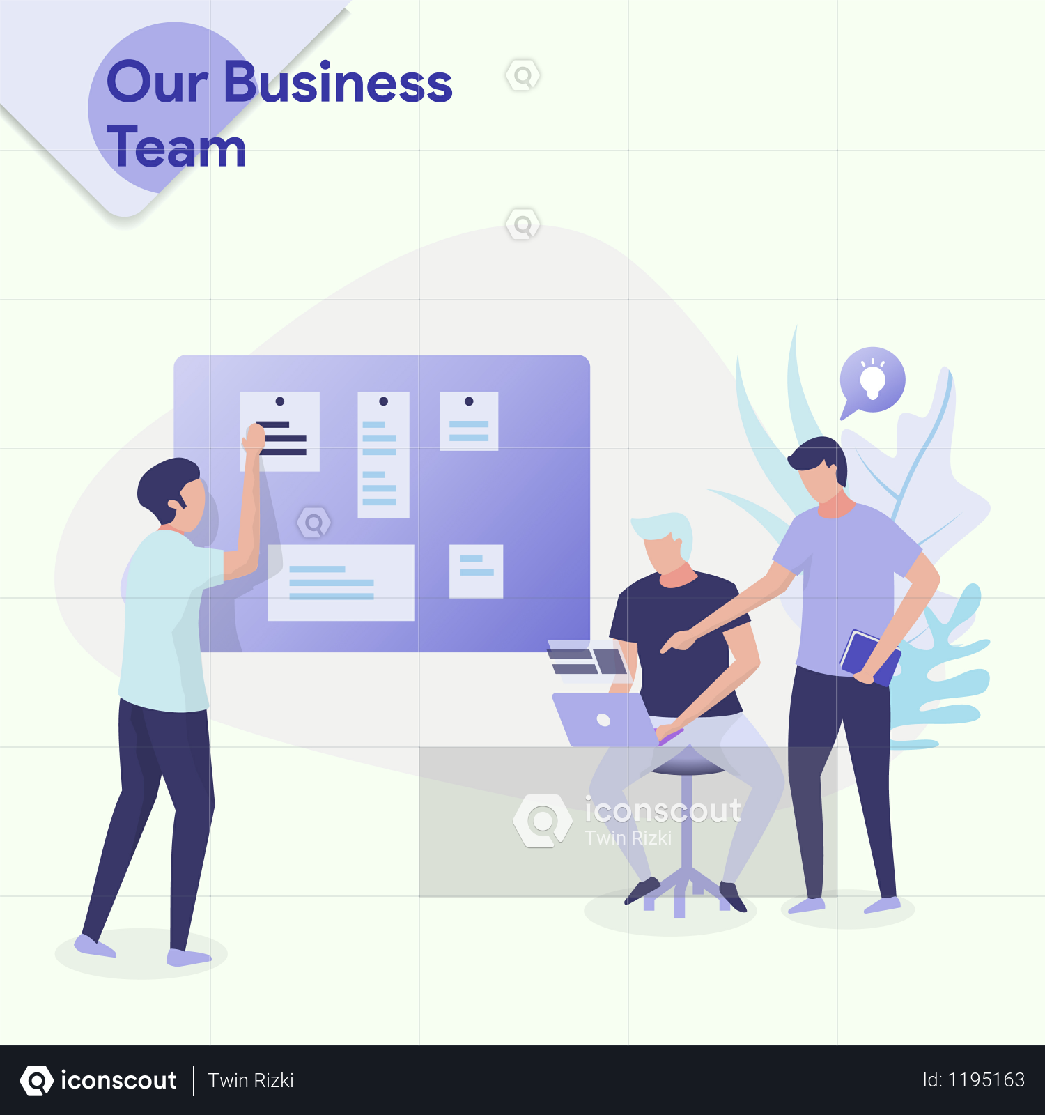 Our Business Team Illustration