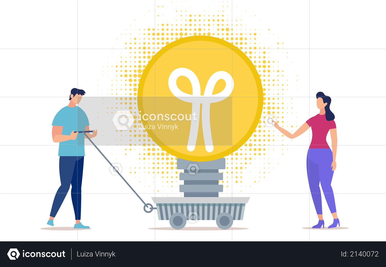 Shipping Ideas Illustration