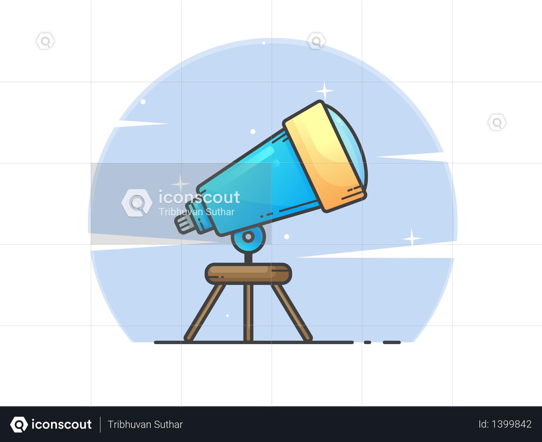 Telescope Illustration