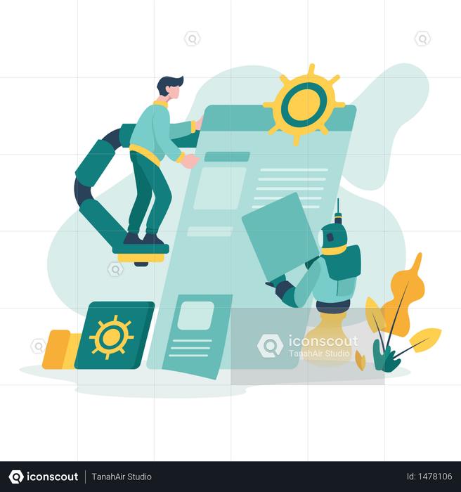 User Settings Illustration