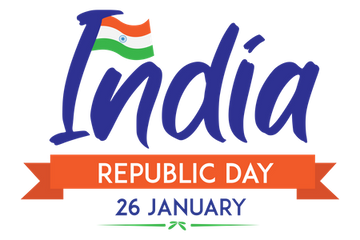 India Republic Day In 26 January Illustration Pack