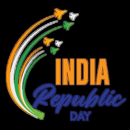 26 January India Republic day Illustration